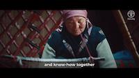 Kyrgyz mountain women collaborate with fashion designer Stella Jean