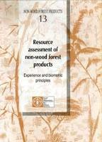 Resource assessment of non-wood forest products