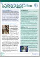 La contribución de los insectos a la seguridad aLimentaria, los medios de vida y el medio ambiente