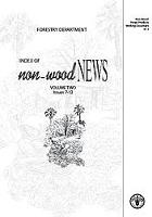 Index of Non-Wood News, Volume One, Issues 1- 6