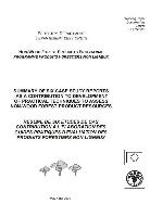 Résumé de six études comme contribution à l'elaboration des guides pratiques d'évaluation des produits forestiers non-ligneux