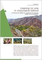 Leaving No One in Mountains Behind: Localizing the SDGs for resilience of mountain people and ecosystems