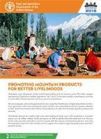 La promoción de productos de montaña para mejorar los medios de vida
