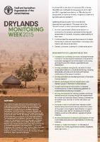 Drylands Monitoring Week 2015