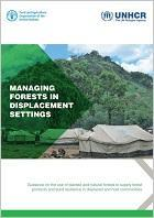 Managing forests in displacement settings