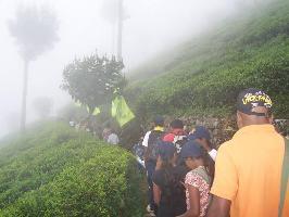 Climbing Haputale mountain range, Sri Lanka