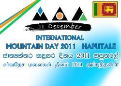 International Mountain Day in Sri Lanka