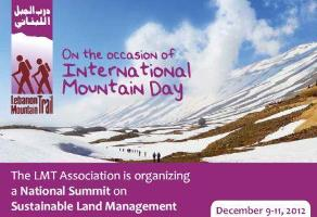 National Summit on Sustainable Land Management in Lebanon
