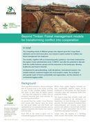 Beyond Timber: Forest management models for transforming conflict into cooperation