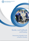Gender, rural livelihoods and forestry: Assessment of gender issues in Kosovo's forestry